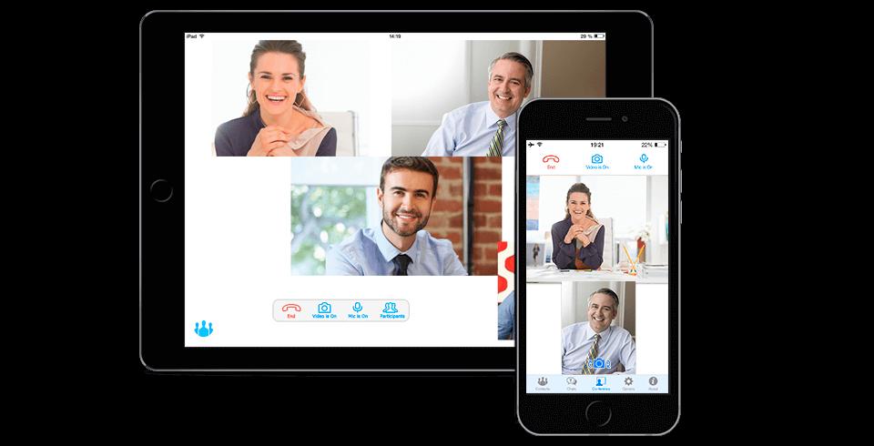 Программное обеспечение TrueConf для проведения видеоконференций для iPhone/iPad